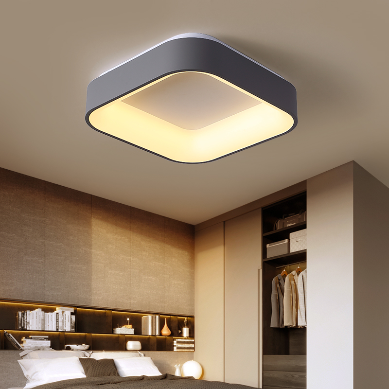 Modern Minimalism LED Ceiling Light Square Indoor down light Ceiling Lamp creative personality study dining room balcony lamp
