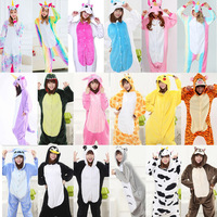 Rainbow Unicorn Unisex Flannel Hoodie Pajamas Anime Costume Animal Onesies Pyjama Sleepwear Unicornio Pajamas Women Adult