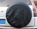 IZTOSS  PVC Leather Spare Tire Cover Wheel Tire Cover black with no logo universal for Jeep CR-V RV SUV trailer truck R17 Tire