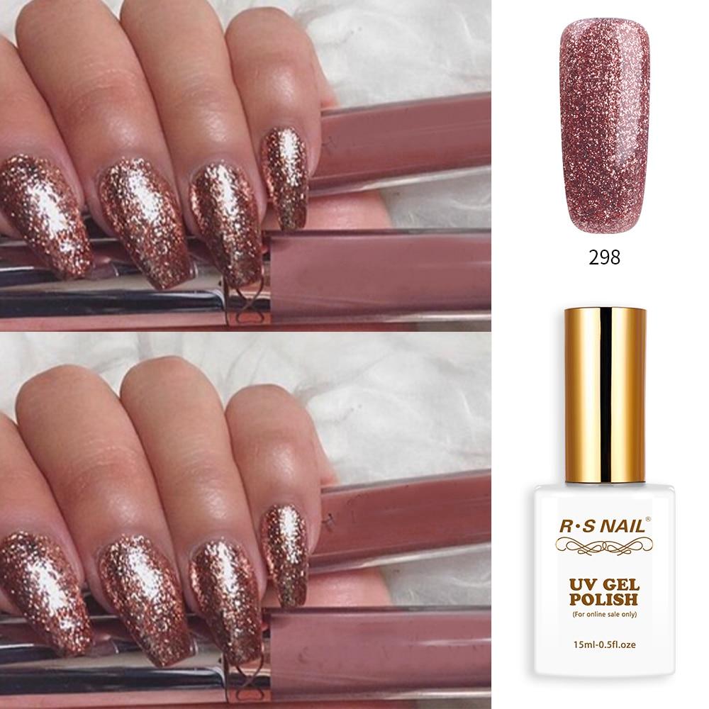 Rs Nail: RS Nail 15ml Led Uv Color Gel Nail Polish No.298 Nail