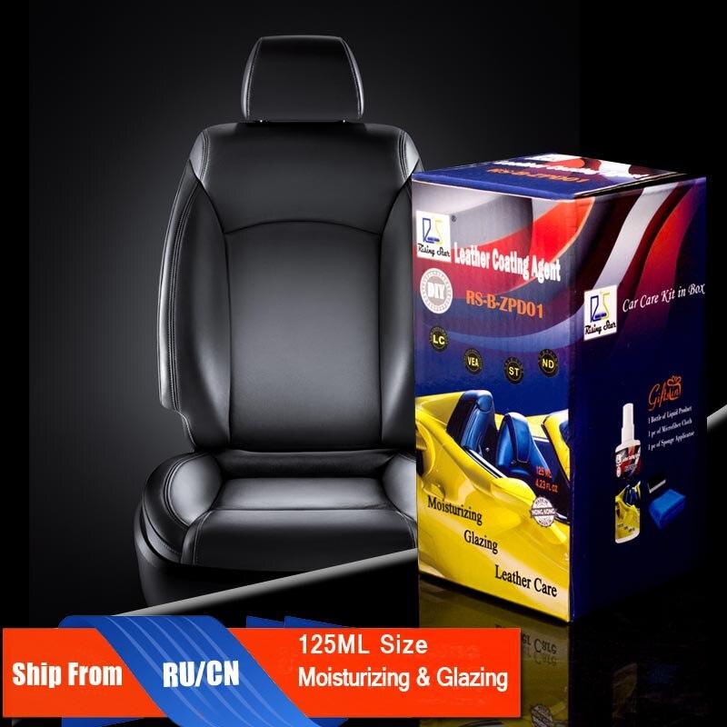 Rising Star RS-B-ZPD01 cuero líquido hidratante reparación y cuidado asiento tapicería de cuero agente de recubrimiento 125 Kit para los usuarios de DIY
