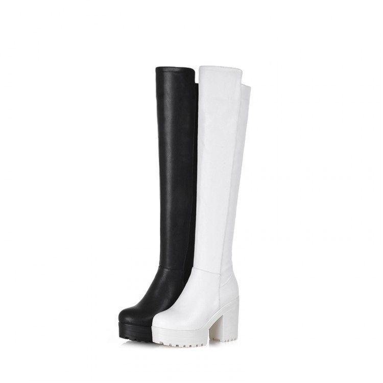 ФОТО Winter  style thigh high women woman femininas ankle boots botas masculina zapatos botines mujer chaussure femme shoes 01-11