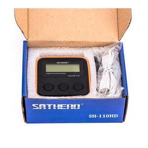 Image 5 - SATHERO SH 110HD lądowych detektor miernik sygnału DVB T DVB T2 cyfrowa telewizja hd wykrywacz sygnału lepiej satlink ws 6905