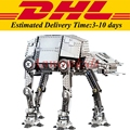 IN Stock DHL LEPIN 05050 1137Pcs Star Wars Motorized Walking AT-AT Model Building Kit Set Blocks Bricks Toy Clone 10178