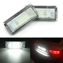 Car LED Number License Plate Light Lamps for BMW E46 4D(98-05)  Car License Plate Lights Exterior Accessories