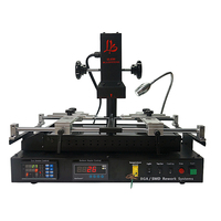 LY IR8500 BGA Rework Station 2 zones full dark infrared 2050W for mobiles motherboard upgraded verson of ir6500 ir pro sc