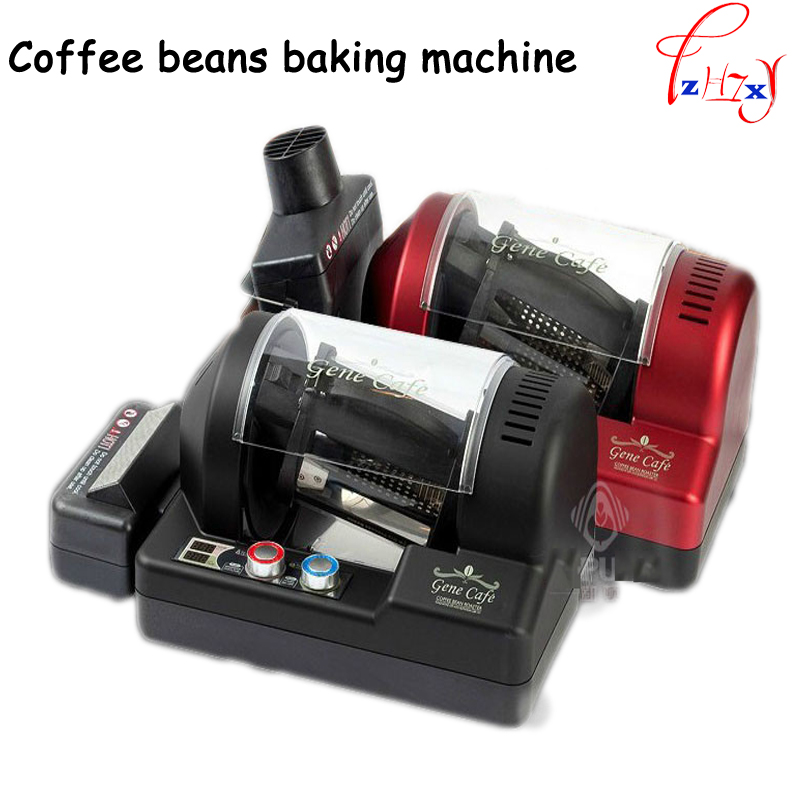 3D hot air coffee roasting machine Full-Automatic coffee roaster/Roasted coffee beans/coffee beans baking machine 300g image