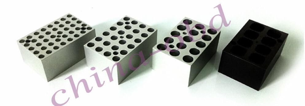 New MINI-D block for Mini Dry Bath Incubator MINIB-100 degree Heating minib 100f digital laboratory mini dry bath incubator fan cooling thermostatic device