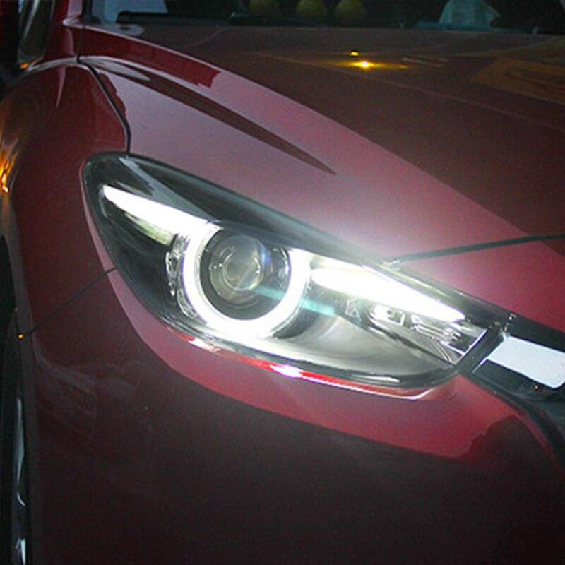 LED Headlights For Mazda 3 Axela 2017 2019 Car Led Lights Double Xenon Lens Car Accessories