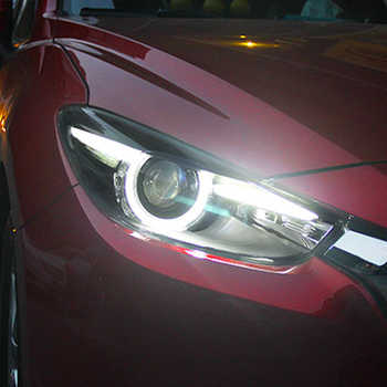 LED Headlights For Mazda 3 Axela 2017-2019 Car Led Lights Double Xenon Lens Car Accessories Daytime Running Lights Fog Lights - DISCOUNT ITEM  20% OFF All Category