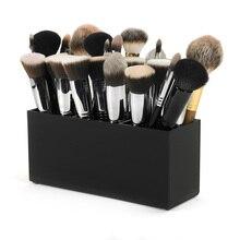 Aila новая маленькая кисть и лайнер макияж Органайзер акриловый макияж коробка для хранения инструментов