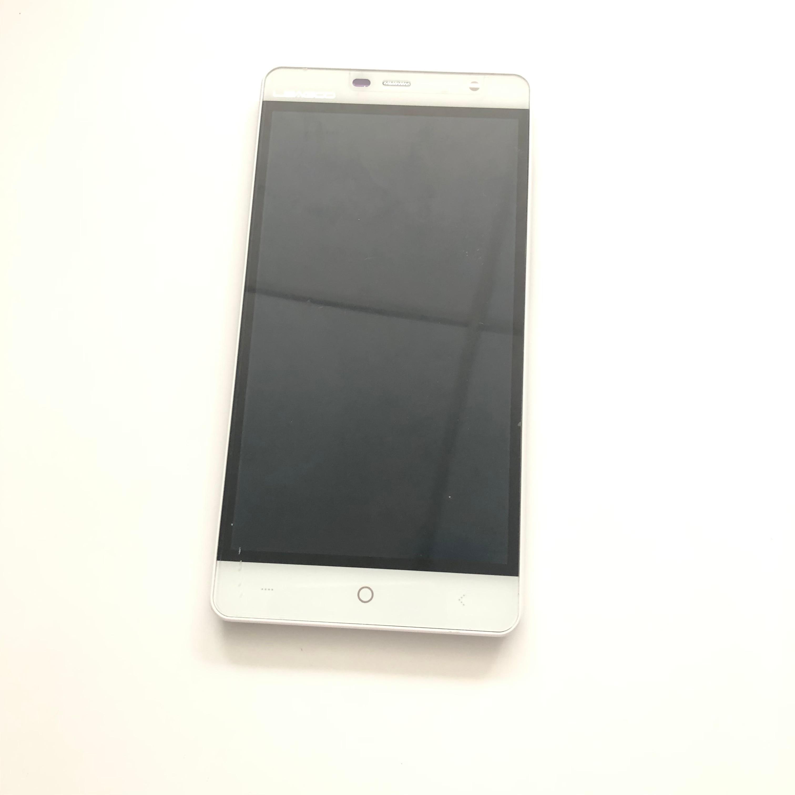 LEAGOO ELITE 4 utilisé écran LCD + écran tactile + cadre pour LEAGOO ELITE 4 MTK6735 960*540 5.0 pouces Smartphone