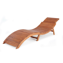 Panana Garden Bench Wooden Sun Lounger Ergonomic Deck Swimming Pool Chair Foldable Comfortable Headrest Folding Fast delivery