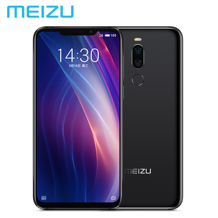 Version globale MEIZU X8 4G LTE Téléphone Portable 20MP 6 GB 64 GB Snapdragon710 Octa Core 6.15