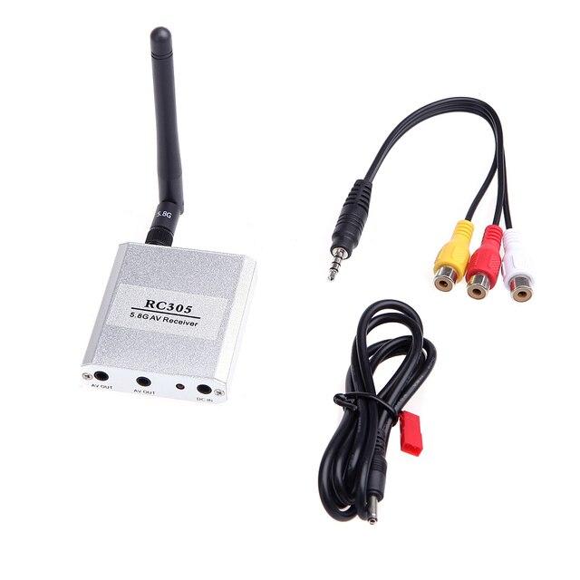 5.8 г беспроводной FPV RX приемник 5.8 ГГц 8CH видео-приемник RC305 FPV TX передатчик