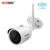 Acesee Camara Surveillance Camera 2MP Outdoor IP Camera Wi Fi 1080p Onvif IP Cam Wireless Waterproof