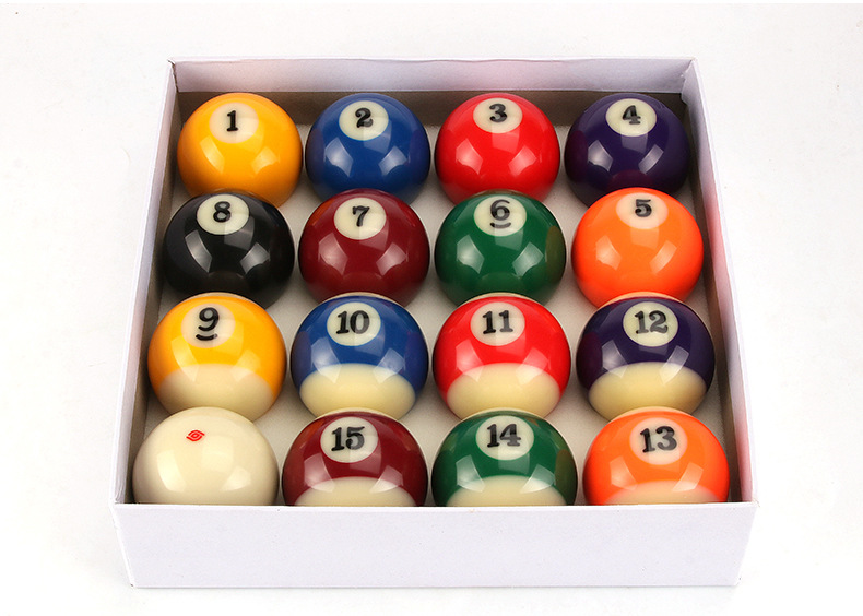 5 72cm American Standard Pool Durable Resin Billiards billiard ball 16 Pcs set