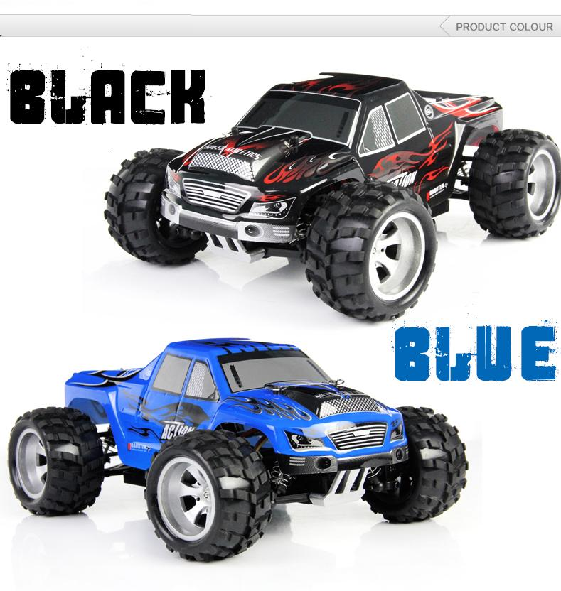 A979 - A 1:18 Scale Tiny RC Racing Car 2.4G 4WD Mode2 High Speed 40km/h RC  Car Free shipping