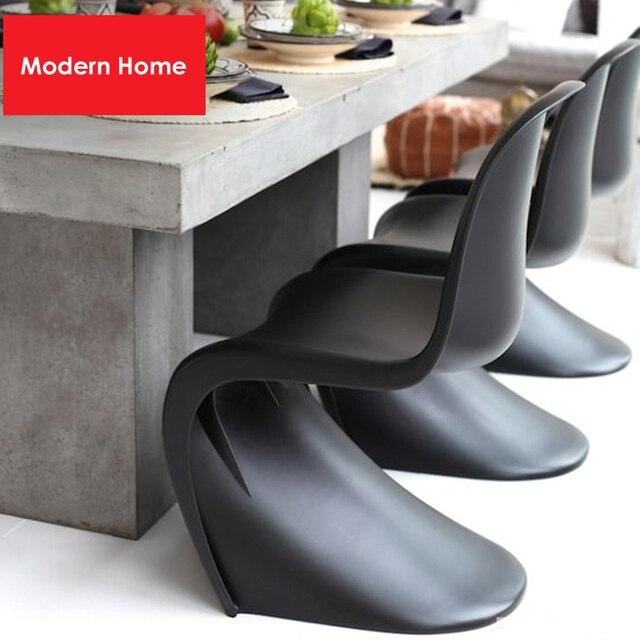 Beau Modern Design Furniture Chair Fashion Design Popular Chair Furniture Modern  Home Dining Chairs S Shape Cafe