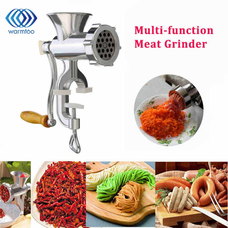 Cooking machine Multifunction Household  Aluminum Alloy Meat Grinder Noodles Grinding Food Processor vibration type pneumatic sanding machine rectangle grinding machine sand vibration machine polishing machine 70x100mm
