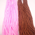 20m/lots 2mm Inelastic No Stretch Threads Coffee Pink Color Soft Cords For Diy Braid Knit Jewelry Crafts Hang Tag Rope Materials