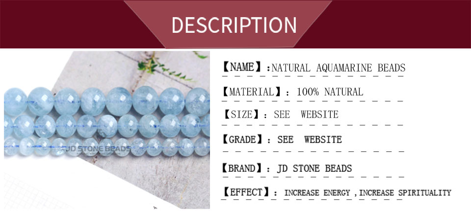 HTB1o35TXvfsK1RjSszbq6AqBXXaV 4 6 8 10 12 mm Natural Aquamarine loose Beads Free Shipping Faceted Blue Pick Szie  DIY Accessory Gemstone For Jewelry Making