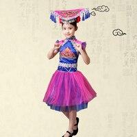 Children Tradition Russian Tatar Uzbek Buick children folk dance performance apparel clothing