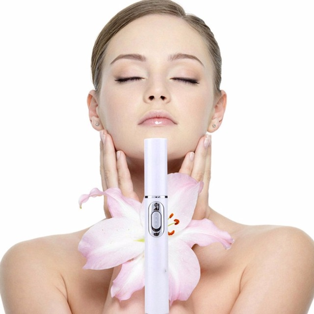 KINGDOMCARES, terapia de luz azul, lápiz láser para acné, eliminación de cicatrices suaves, dispositivo de tratamiento para el cuidado de la piel, equipo de belleza KD-7910
