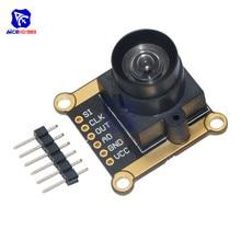 3V 5V TSL1401CL 128X1 Lineare Sensore CCD Array con Attesa Ultra Wide Angle Lens Macchina Fotografica di Inseguimento modulo