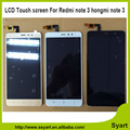 5.5 polegada novo hongmi note 3 lcd screen display + touch substituição digitador lcd para xiaomi redmi note 3 lcd completo + livre ferramentas