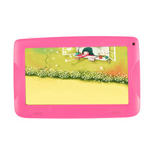 7 inch Quad Core Kids Tablet PC Designed for Children Educational Android 4.4 Preloaded Educational Apps and Games Free shipping