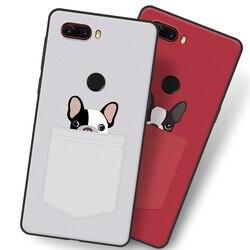 На Алиэкспресс купить стекло для смартфона cartoon red dog case for zte nubia z18,tpu painted mobile phone shell lovely cartoon color painting case.10 colors.