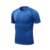 Blue - Men's running T-shirt