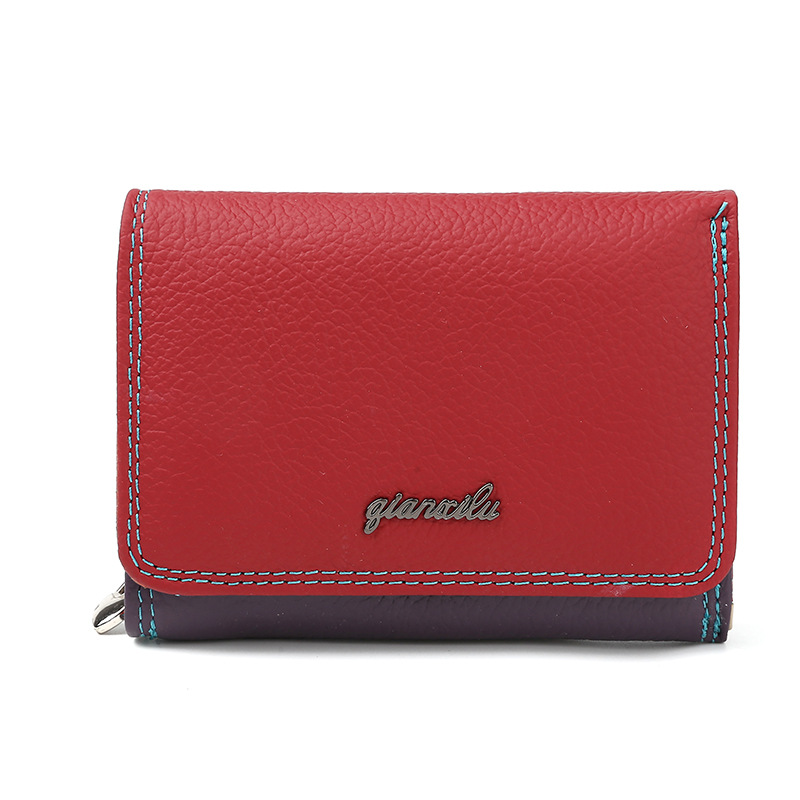 2018 leather Women Wallet And Purses Coin Purse Female
