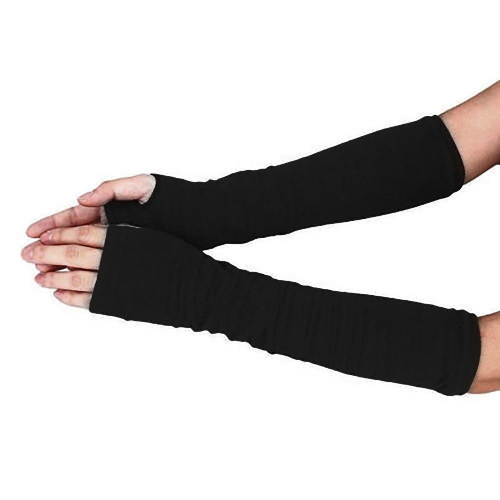 Rational 1 Paar Frauen Herbst Winter Arm Warme Abdeckung Handschuhe Mode Nähen Farbe/striped Lady Stretchy Weiche Handgelenk Arm Halb finger Handschuhe Armstulpen Damen-accessoires
