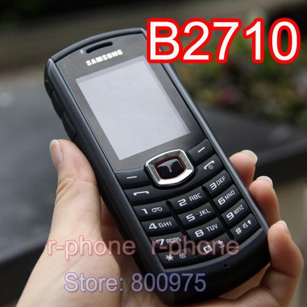 100 Original Samsung B2710 Unlocked Mobile Phone Samsung Xcover B2710 2G 3G Refurbished Phone