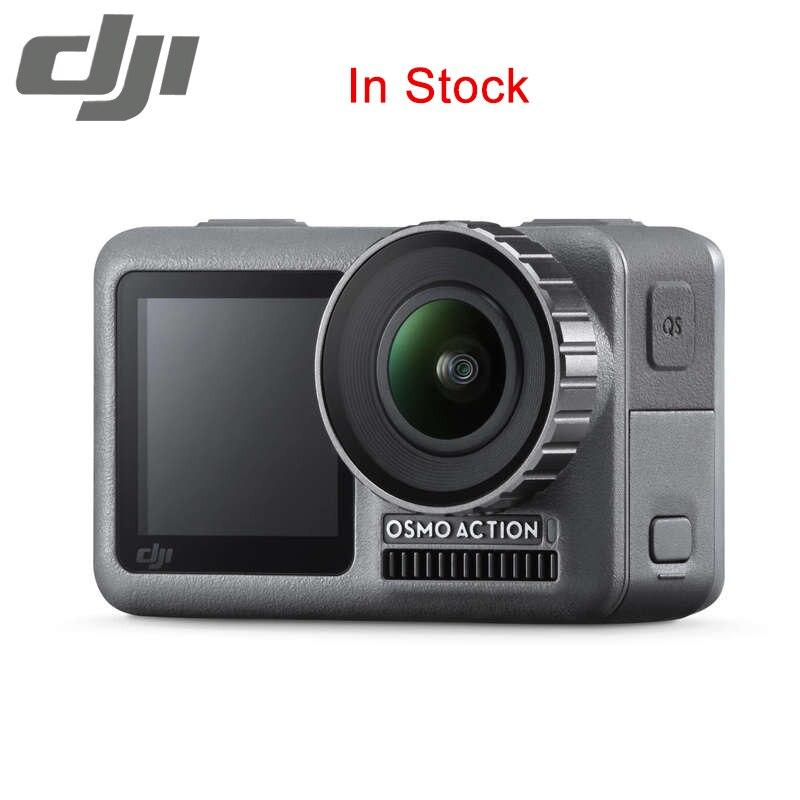 D'origine DJI Osmo Caméra D'action double écrans et RockSteady stabilisation Imperméable 8 xSlow Mouvement PK Gopro Hero 7 Yi 4 K
