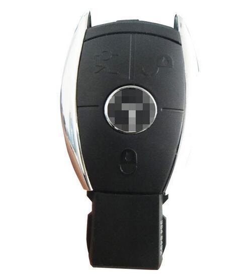 3 Botões Inteligente Remoto Chave de Substituição Shell Fob Capa Em Branco caso Para Mercedes Benz Classe S Chave Shell + Free grátis