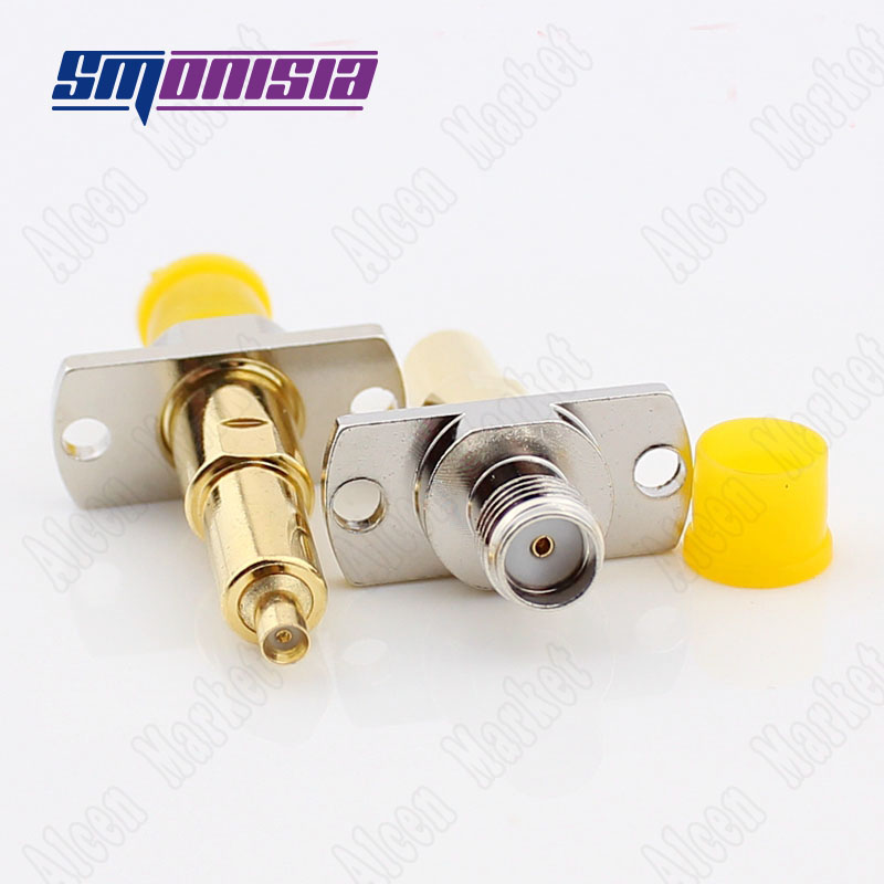 Smonisia 10pcs-200pcs Brass Gold Plated SMA Female Socket To 2.5 Phone Test RF Connector 50ohm gold plated socket pixhawk px4 247