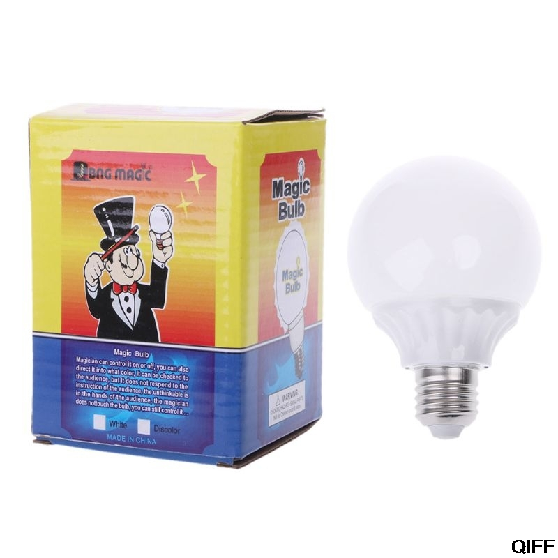 Drop Ship&Wholesale Controllable Light Bulb Magic Lamp Need Magnet Ring Magic Illusion Magic Tricks Magic Toy Easy May06