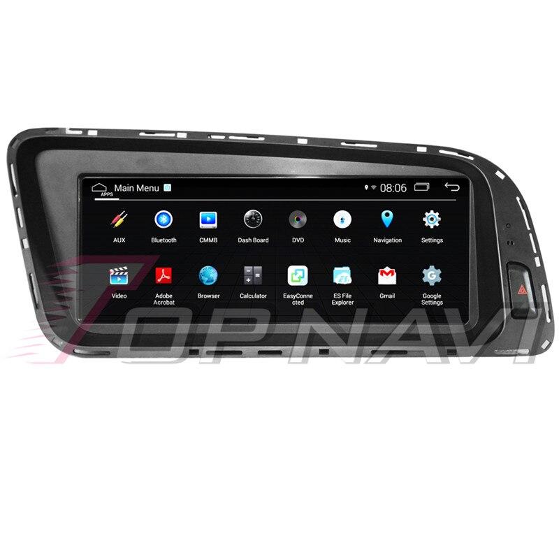 Topnavi Android 4.4 Car Media Center Player Radio For AUDI