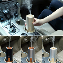 GX.Diffuser USB Ultrasonic Air Humidifier for Car Fogger Aroma Diffuser Essential Oil Diffuser Purifier Aromatherapy Mist Maker