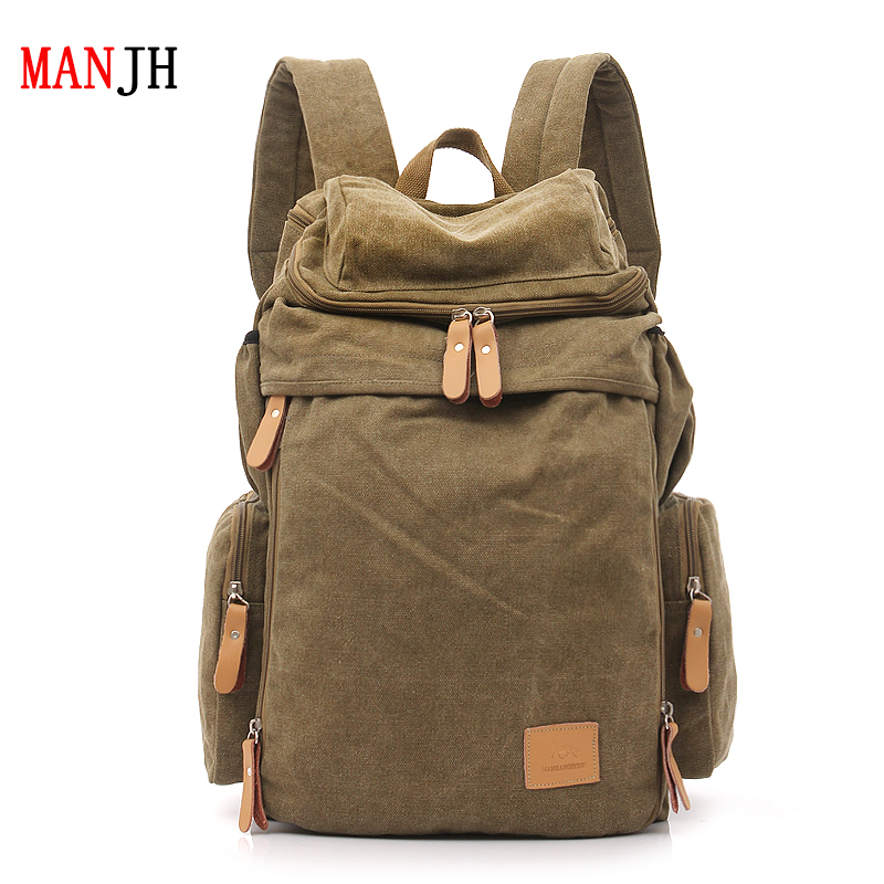 Free shipping men's backpacks  style ,fashion casual canvas backpack school bags for male, travel bag,The large capacity backpac