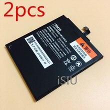 Mi4C iSIU 2 unids Batería Al Por Mayor Para Xiaomi Teléfono Móvil Xiao Mi Mi 4C Recargable BM35 BM-35 3000 mAh Baterai accesorios