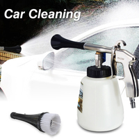 Car Automobile Cleaning Air Gun Cleaner With Brush 1000mL 1 4 Inch For Tornador Z 010