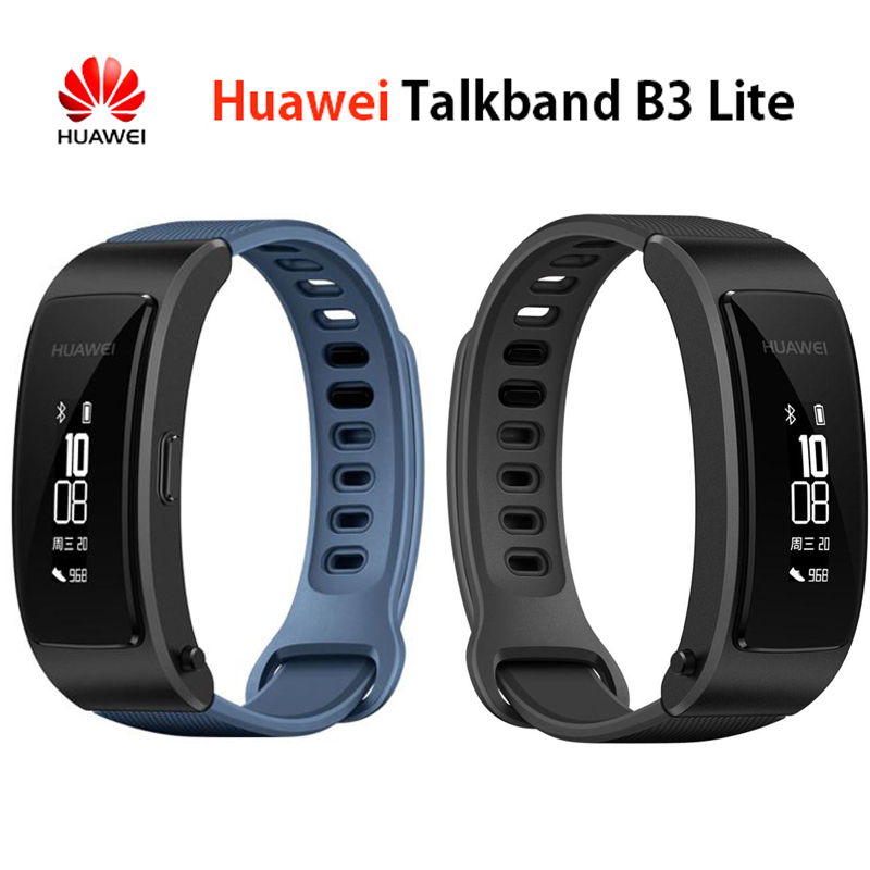 100% Original Huawei band B3 youth version of smart sports Bluetooth headset Answer/End call pedometer original huawei honor am07 smart bluetooth headset