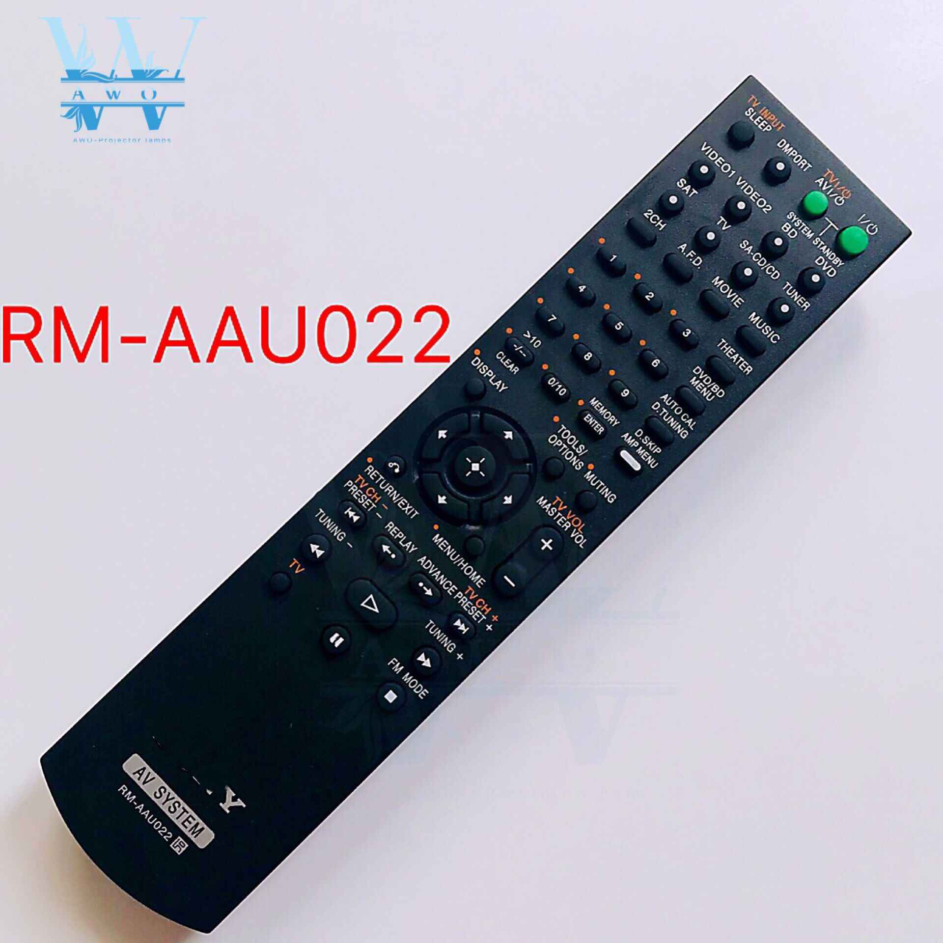 RM-Series® Replacement Remote Control For Sony DAV-DZ500F