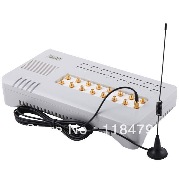 DHL Free shipping GOIP-16 Quad band GSM voip Gateway 16 Channel GOIP IMEI changeable support sim bank with 1 year warranty