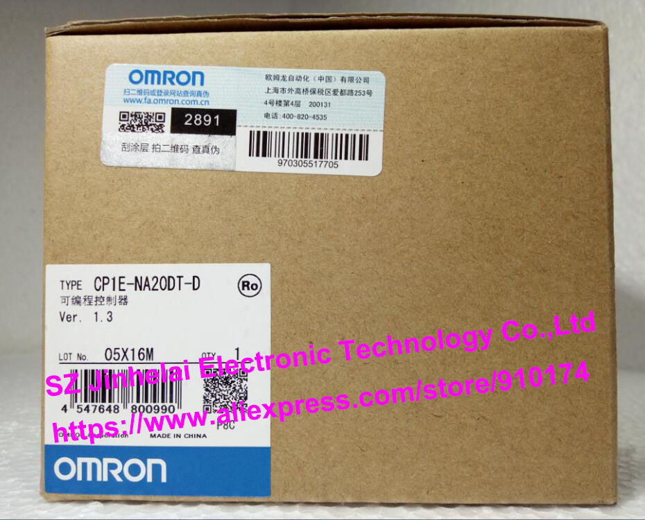 New and original CP1E-NA20DT-D  OMRON  PLC controller