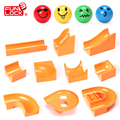 Funlock Duplo Marble Run Assemble Plastic Slide Blocks Parts for Kids Creative Educational Building Toys for Children